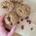 Muffin pre-entrainement banane et erable